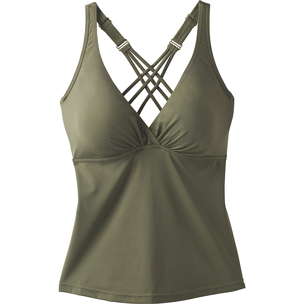 PrAna Kayana Tankini / D-Cup 36 - Cargo Green - PrAna Womens Apparel - Apparel & Footwear, Women's Apparel