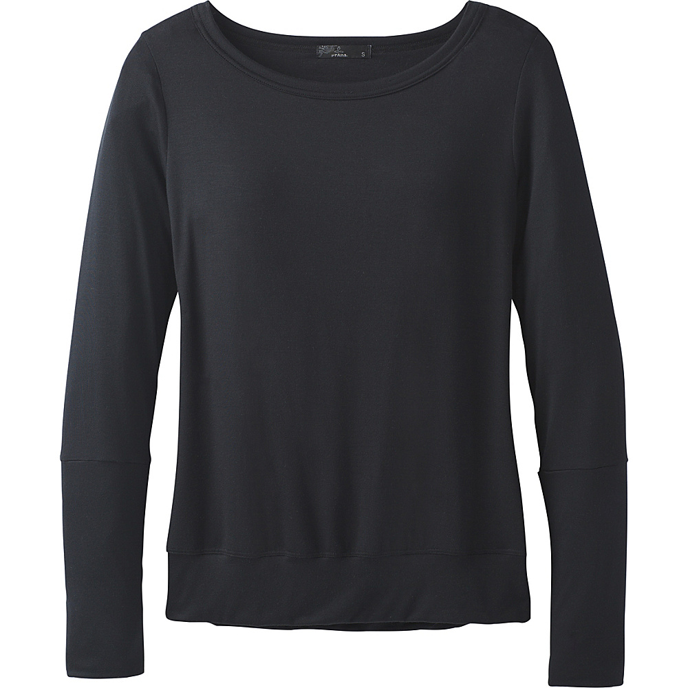 PrAna Synergy Top XL - Black - PrAna Womens Apparel - Apparel & Footwear, Women's Apparel