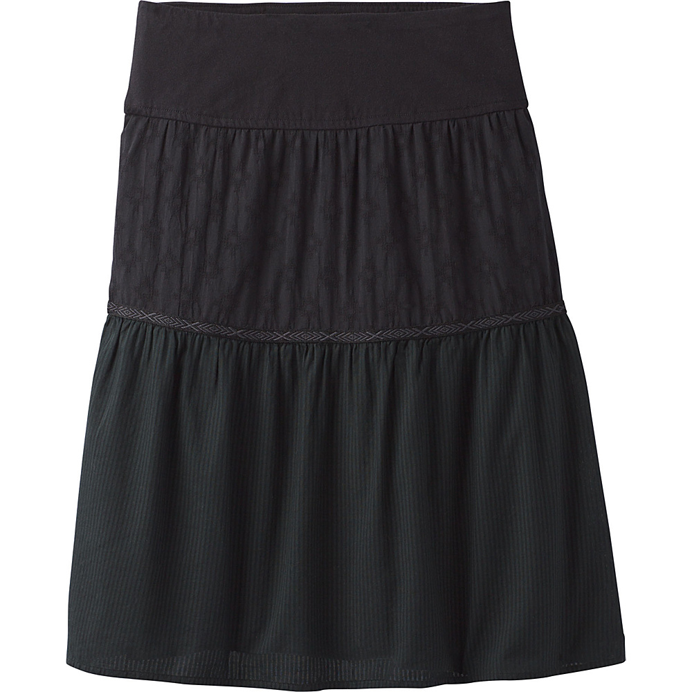 PrAna Taja Skirt S - Black - PrAna Womens Apparel - Apparel & Footwear, Women's Apparel