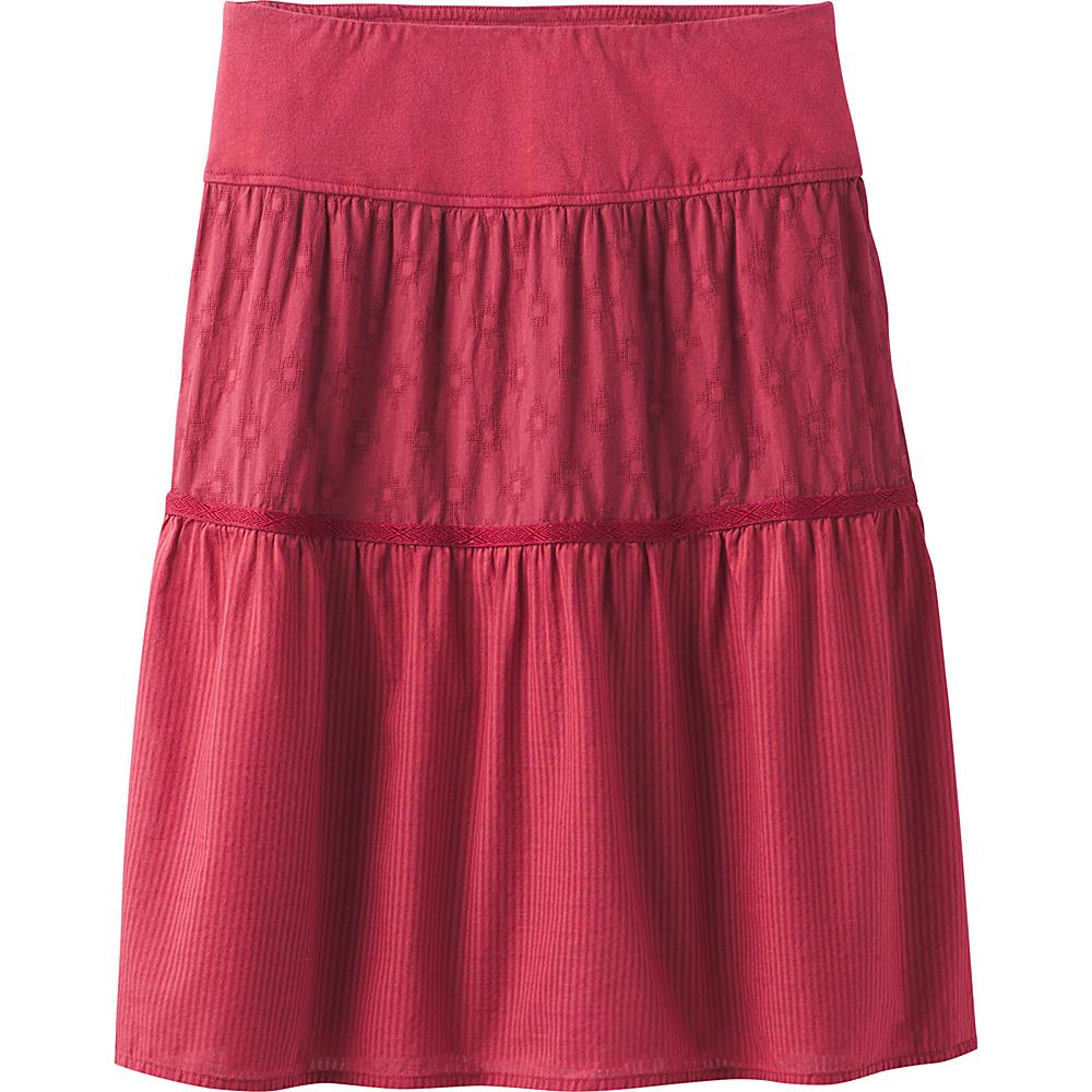 PrAna Taja Skirt M - Crushed Cran - PrAna Womens Apparel - Apparel & Footwear, Women's Apparel