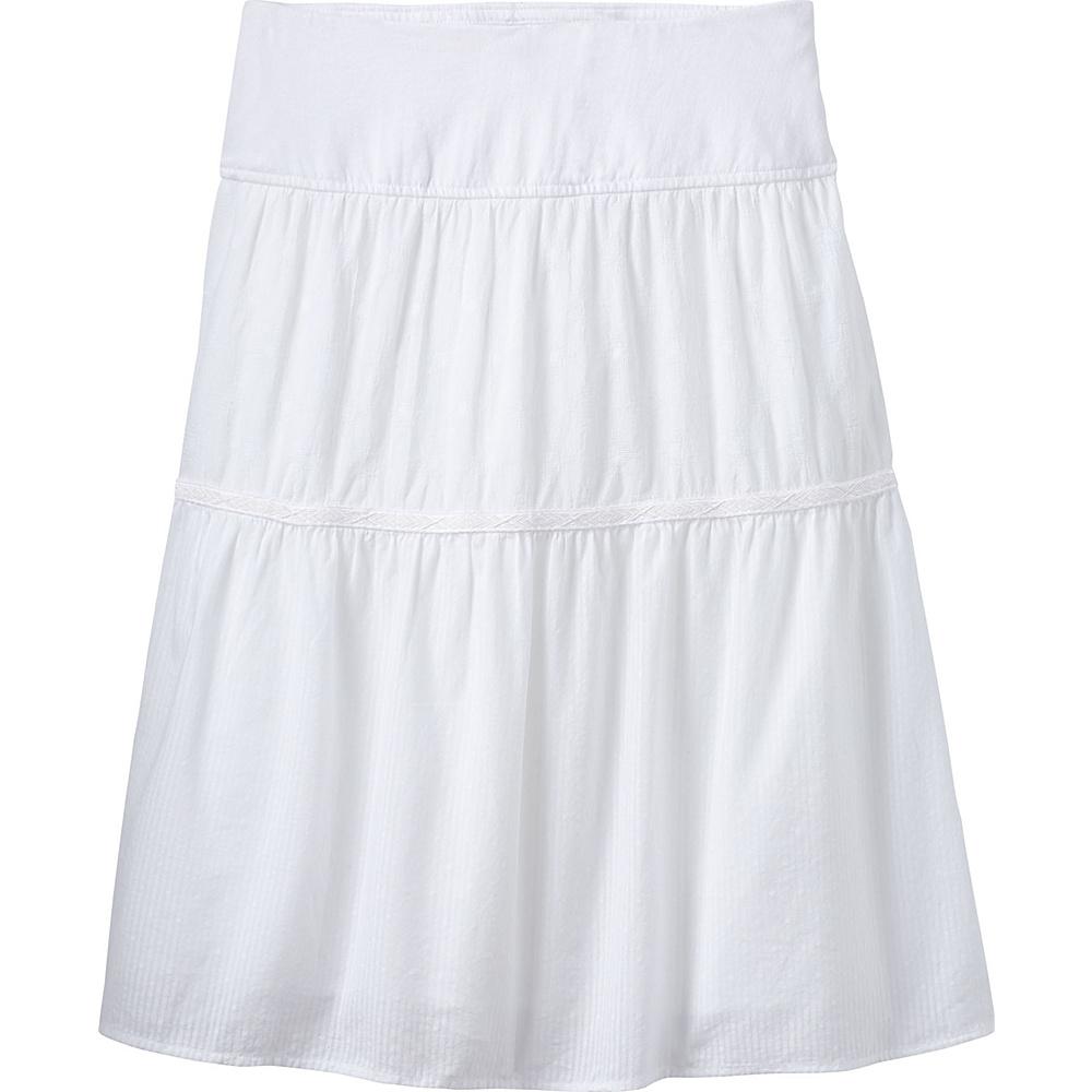 PrAna Taja Skirt XS - White - PrAna Womens Apparel - Apparel & Footwear, Women's Apparel