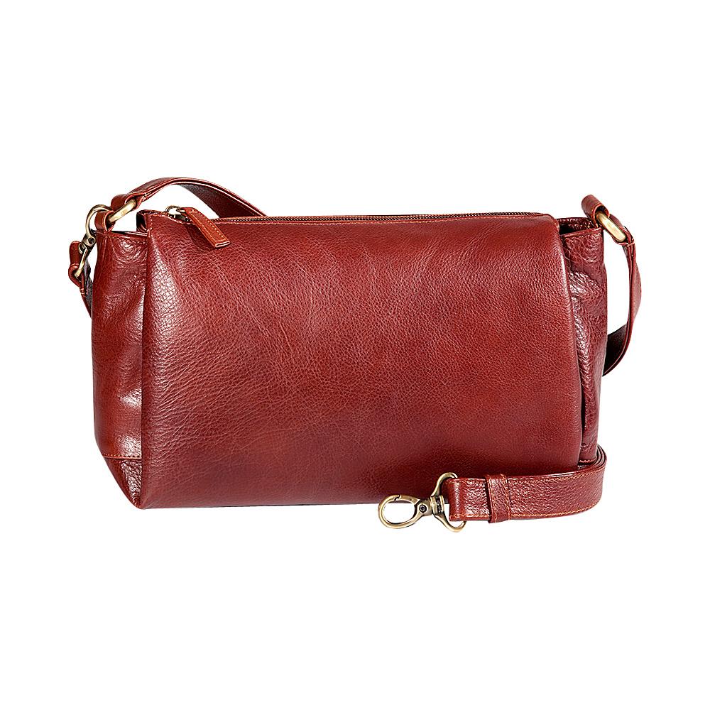 Derek Alexander EW Top Zip Satchel Whisky - Derek Alexander Leather Handbags - Handbags, Leather Handbags