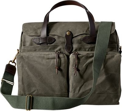 Filson 24-Hour Tin Briefcase Otter Green - Filson Non-Wheeled Business Cases