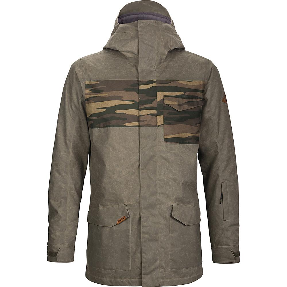 DAKINE Mens Elsman Jacket XL - Tarmac / Field Camo - DAKINE Mens Apparel - Apparel & Footwear, Men's Apparel