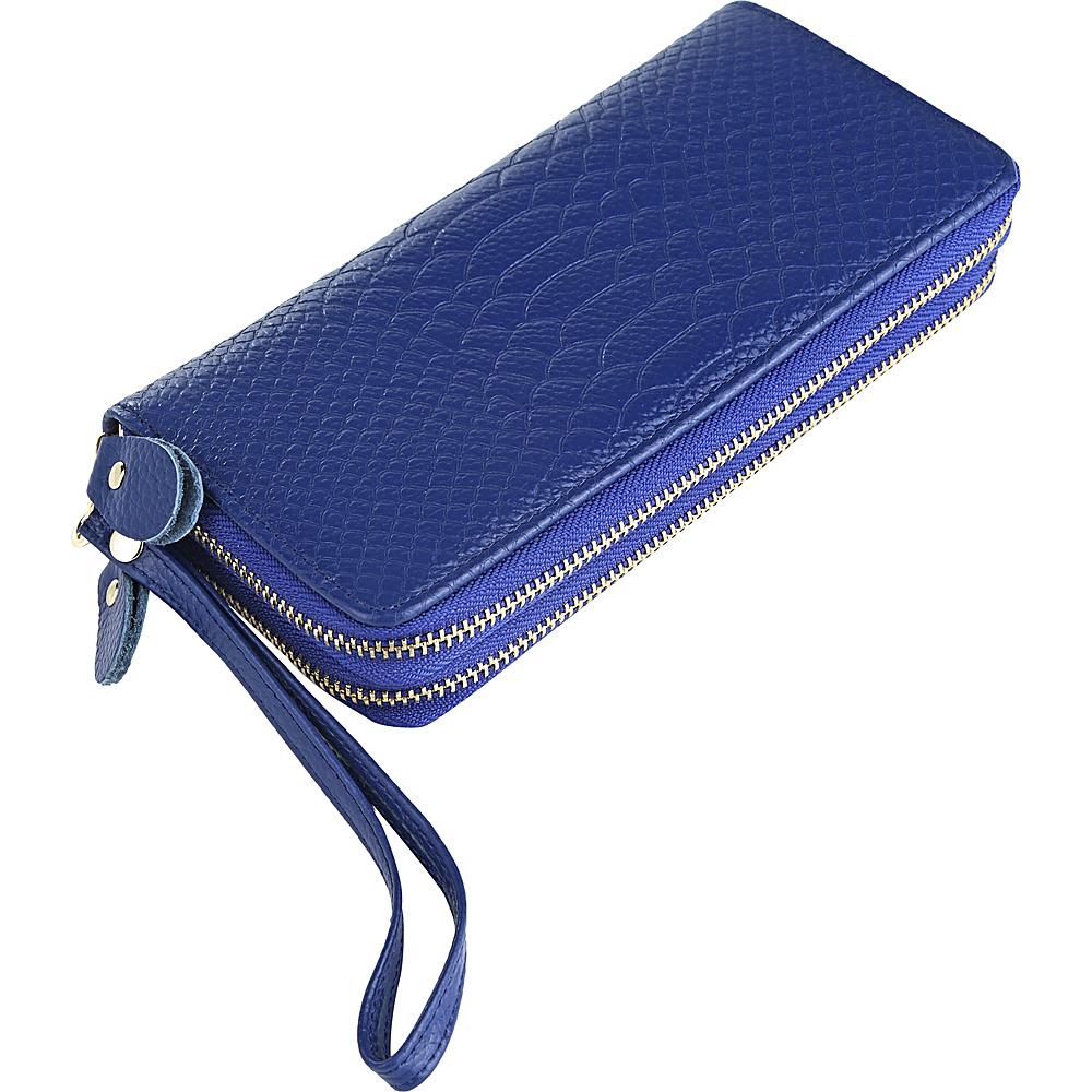 MKF Collection by Mia K. Farrow Darcy Wristlet Wallet Blue - MKF Collection by Mia K. Farrow Womens Wallets - Women's SLG, Women's Wallets