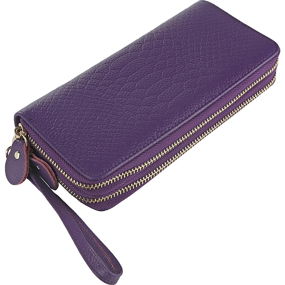 MKF Collection by Mia K. Farrow Darcy Wristlet Wallet Purple - MKF Collection by Mia K. Farrow Womens Wallets - Women's SLG, Women's Wallets
