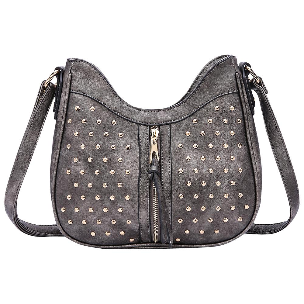 MKF Collection by Mia K. Farrow Breanna Crossbody Grey - MKF Collection by Mia K. Farrow Manmade Handbags - Handbags, Manmade Handbags
