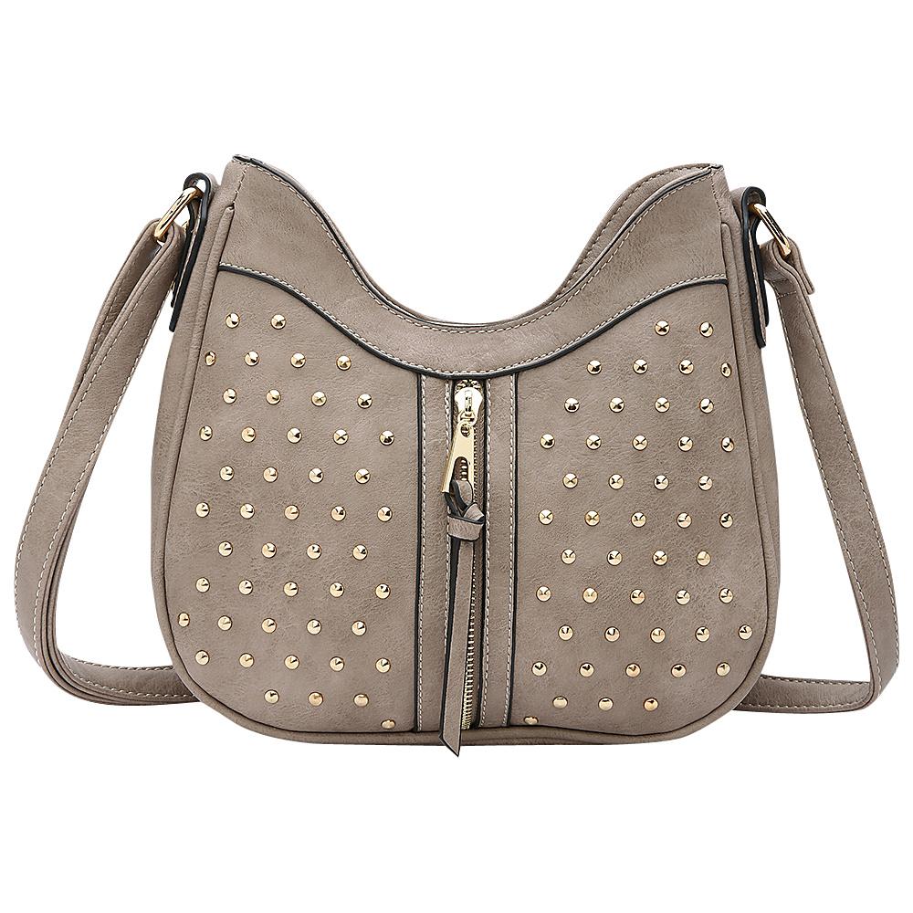 MKF Collection by Mia K. Farrow Breanna Crossbody Khaki - MKF Collection by Mia K. Farrow Manmade Handbags - Handbags, Manmade Handbags