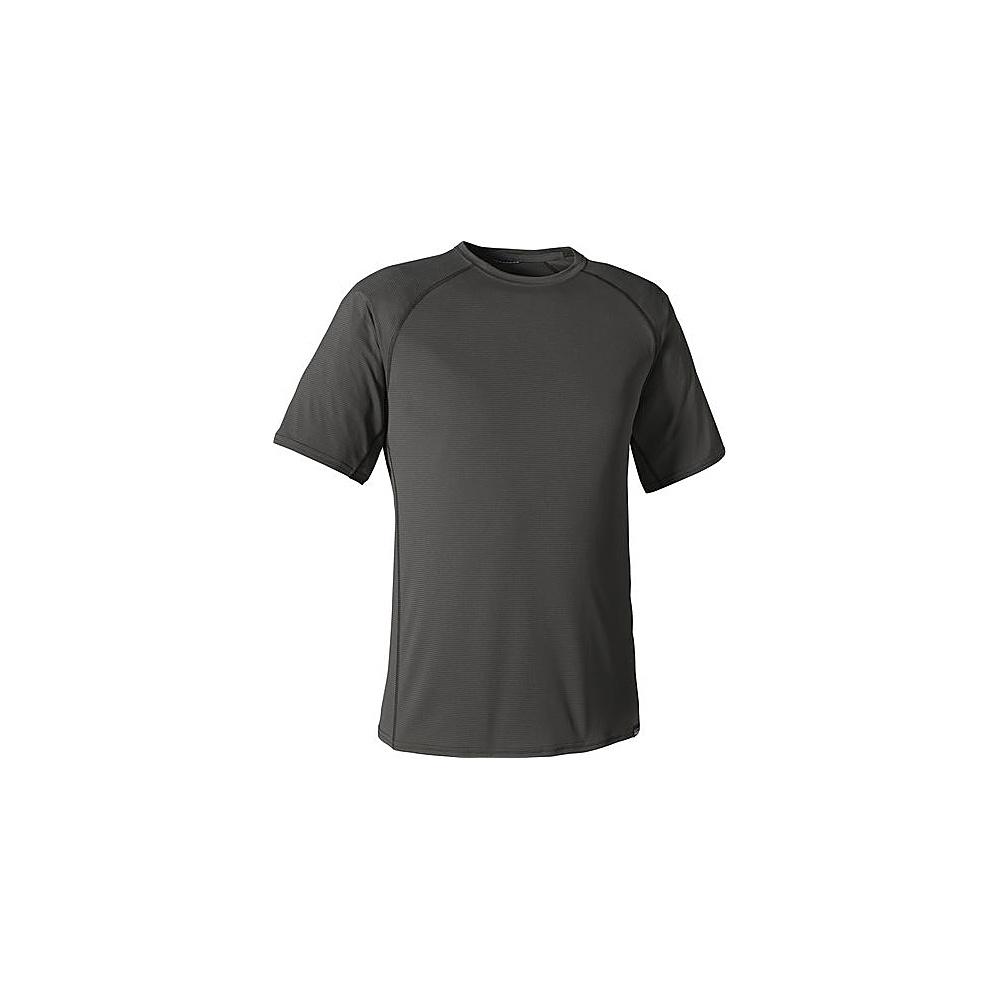 Patagonia Mens Cap LW T-Shirt S - Forge Grey - Patagonia Mens Apparel - Apparel & Footwear, Men's Apparel