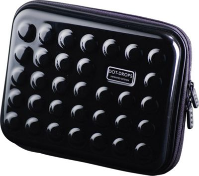 Dot Drops Chapter 2 Small Rigid Case Black - Dot Drops Travel Organizers