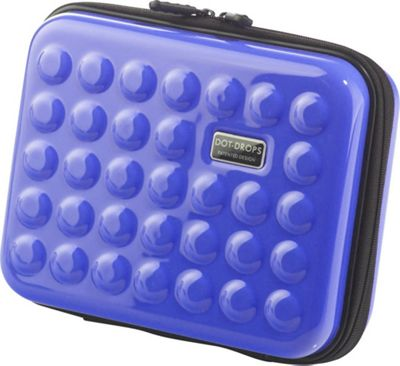 Dot Drops Chapter 2 Small Rigid Case Ice Blue - Dot Drops Travel Organizers