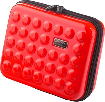 Dot Drops Chapter 2 Small Rigid Case Red - Dot Drops Travel Organizers