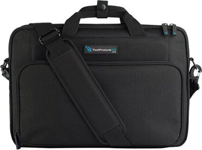 TechProducts 360 Vault 15.6 inch Bag TAA Black - TechProducts 360 Messenger Bags