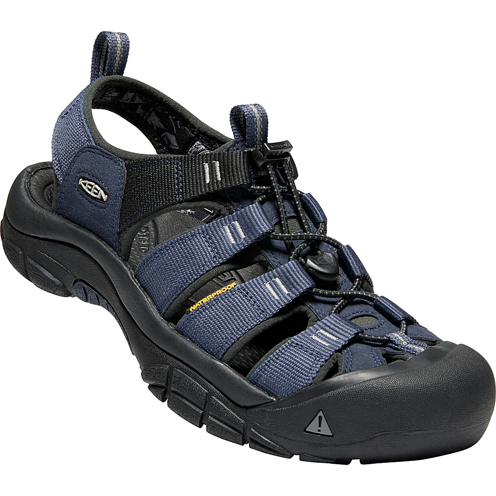KEEN Mens Newport Hydro Sandals 9.5 - Dress Blues/Steel Grey - KEEN Mens Footwear - Apparel & Footwear, Men's Footwear