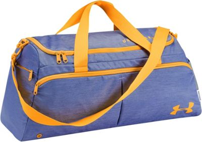 Under Armour Womens Undeniable Duffle Small Talc Blue Full Heather/Dandelion/Dandelion - Under Armour Gym Duffels