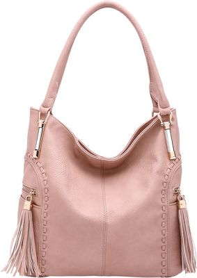 STYLE STRATEGY Janet Hobo Dusty Rose - STYLE STRATEGY Manmade Handbags
