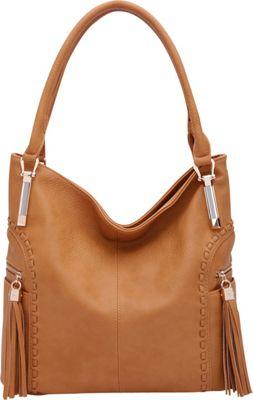 STYLE STRATEGY Janet Hobo Mustard - STYLE STRATEGY Manmade Handbags