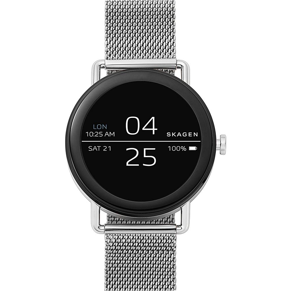 Skagen Falster Steel Mesh Smartwatch Silver - Skagen Wearable Technology