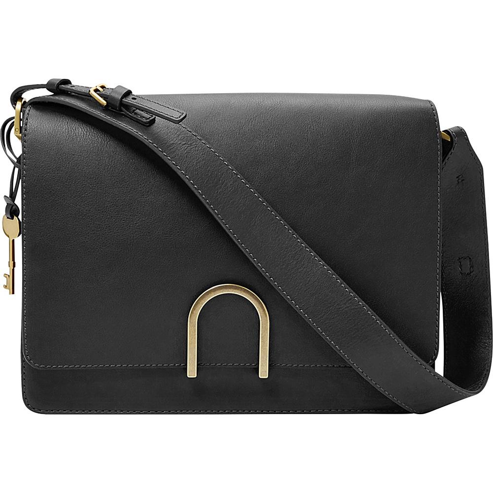 Fossil Finley Shoulder Bag Black - Fossil Leather Handbags - Handbags, Leather Handbags