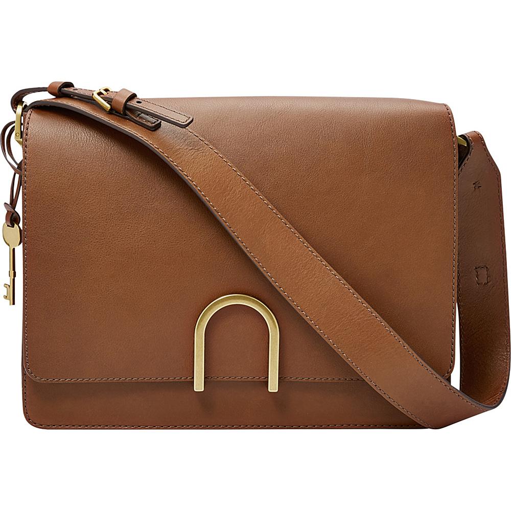 Fossil Finley Shoulder Bag Brown - Fossil Leather Handbags - Handbags, Leather Handbags