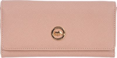 Roots 73 Slim Wallet with Zipper Pocket Blush - Roots 73 Women's Wallets