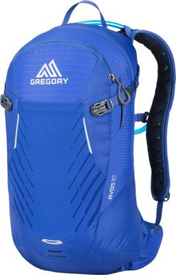 Gregory Womens Avos 10 3D-Hydro Backpack Riviera Blue - Gregory Hydration Packs and Bottles
