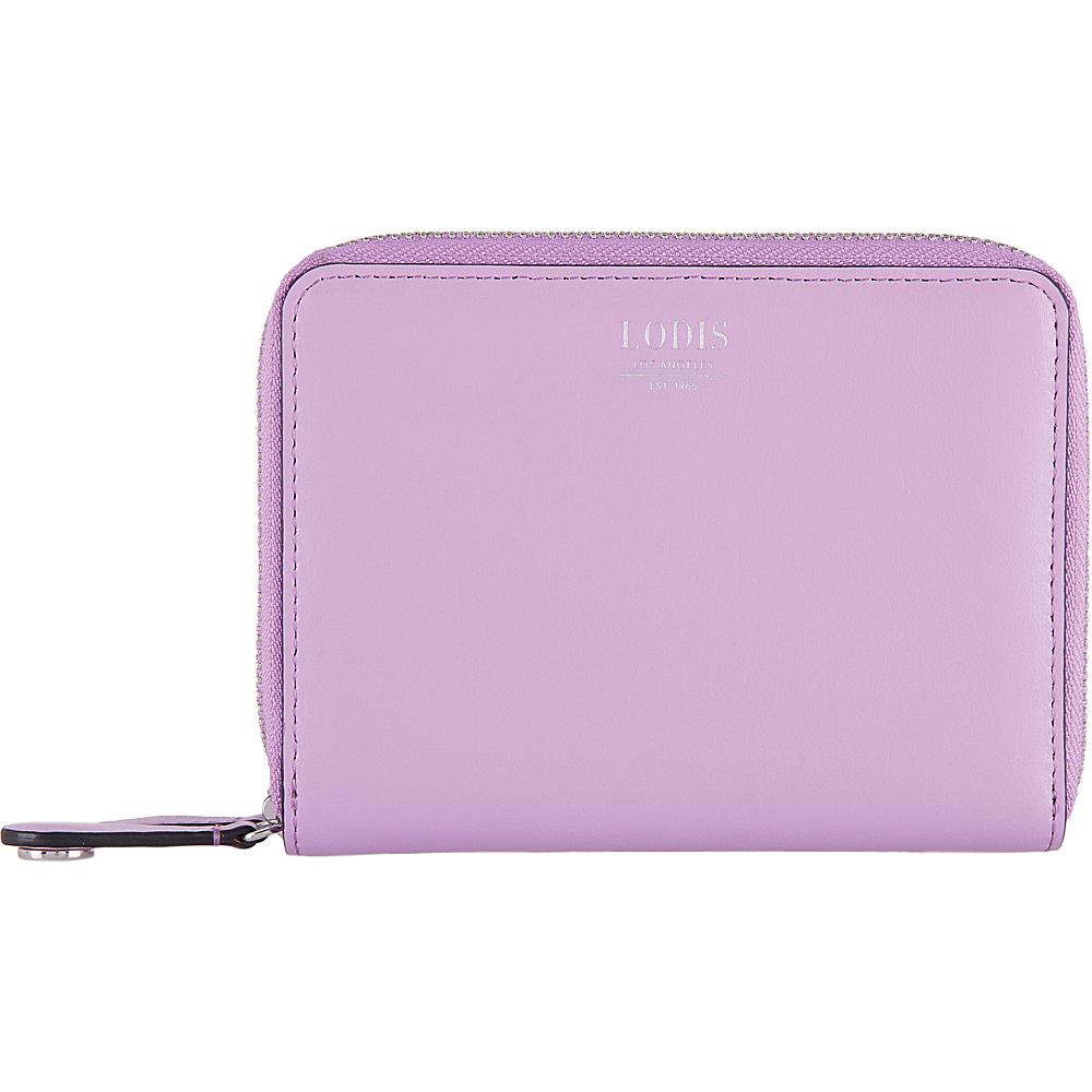 Lodis Laguna RFID Laney Continental Double Zip Wallet Lavender - Lodis Womens Wallets - Women's SLG, Women's Wallets