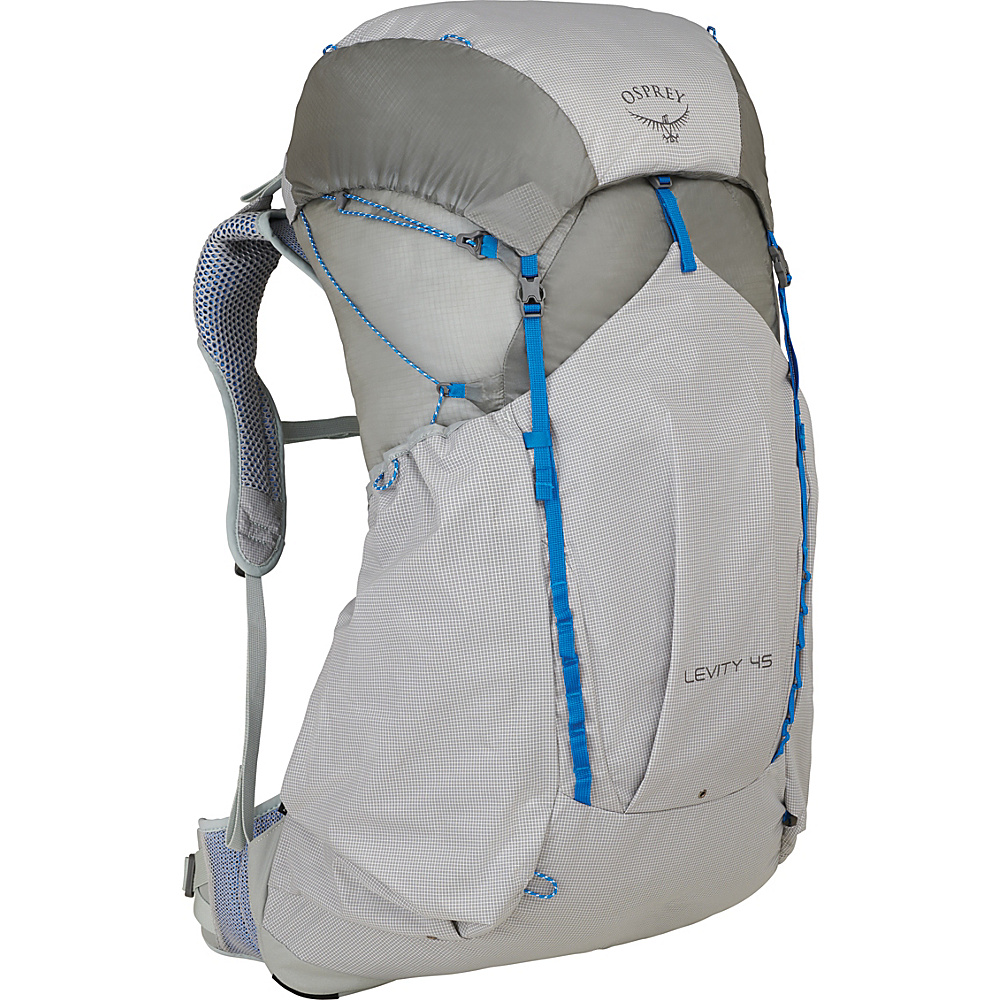 Osprey Levity 45 Hiking Backpack Parallax Silver – SM - Osprey Day Hiking Backpacks - Outdoor, Day Hiking Backpacks
