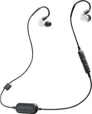 Shure SE215-CL-BT1 Wireless Sound Isolating Earphones Clear - Shure Headphones & Speakers