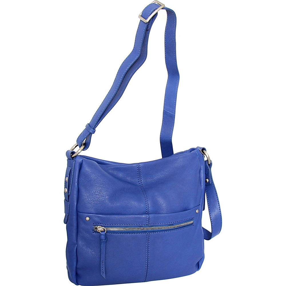 Nino Bossi Piper Crossbody Cobalt - Nino Bossi Leather Handbags - Handbags, Leather Handbags