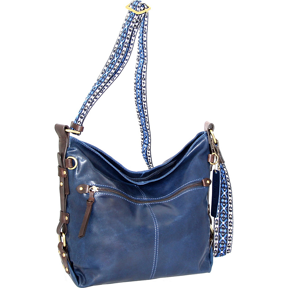 Nino Bossi Elissa Crossbody Denim - Nino Bossi Leather Handbags - Handbags, Leather Handbags