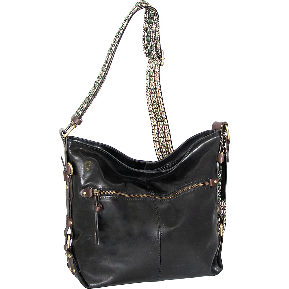 Nino Bossi Elissa Crossbody Black - Nino Bossi Leather Handbags - Handbags, Leather Handbags