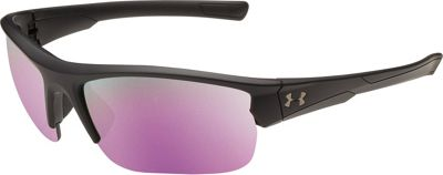 Under Armour Eyewear Propel Sunglasses Satin Black/Black/Pink Mirror - Under Armour Eyewear Sunglasses