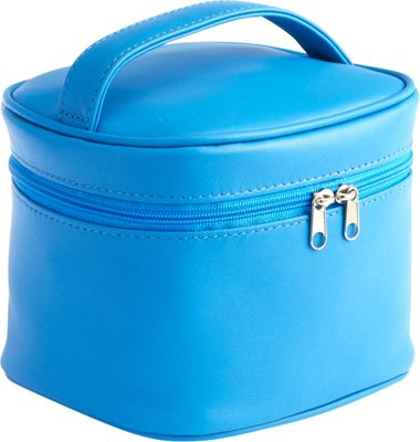Image of Royce Leather Chic Cosmetic Carrying Case Royce Blue - Royce Leather Travel Health & Beauty