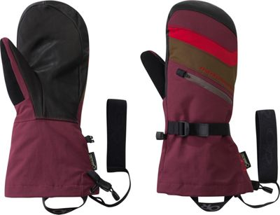 Image of Outdoor Research Southback Mitt L - Zin/Carob/Tomato - Outdoor Research Hats/Gloves/Scarves