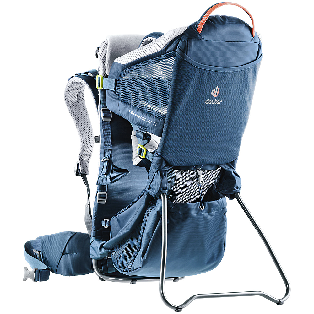 Deuter Kid Comfort Active Kid Carrier Midnight - Deuter Baby Carriers Kid Comfort Active Kid Carrier Midnight. For parents looking for a safe and light child carrier.