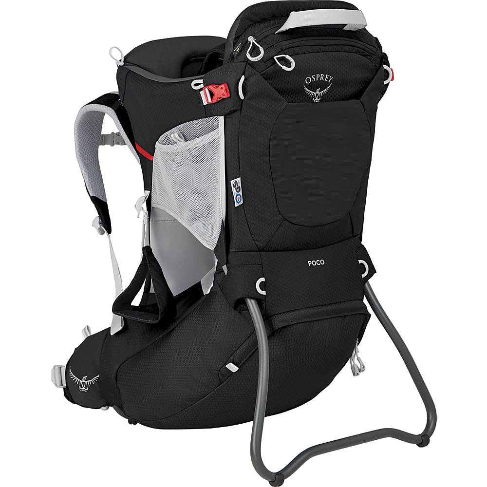 Osprey Poco Child Carrier Starry Black O/S - Osprey Baby Carriers Poco Child Carrier Starry Black O/S. Whether it's a big or a small adventure, the Poco® child carrier nurtures discovery. Carrying a child on your back in a supportive, innately safe and comfortable carrier allows you to have a shared point of view while giving you the freedom and mobility to adventure together. Sharing new experiences with children in this way will engage them and give them a new perspective of the world around them.