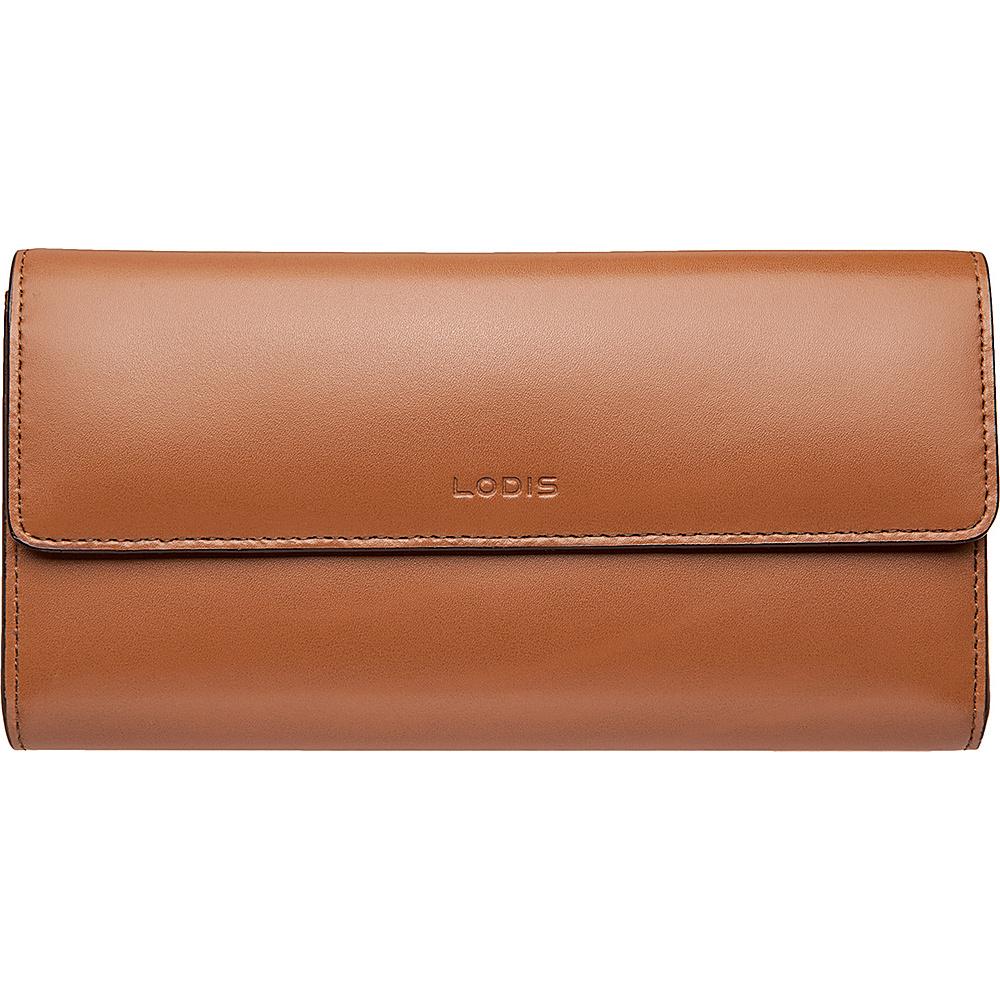 Lodis Audrey Checkbook Clutch Wallet - Audrey Toffee - Women's SLG, Women's Wallets
