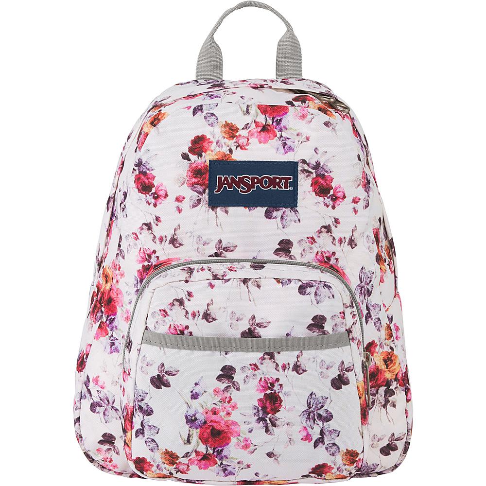 JanSport Half Pint Backpack - 12.3 Floral Memory - JanSport Everyday Backpacks - Backpacks, Everyday Backpacks