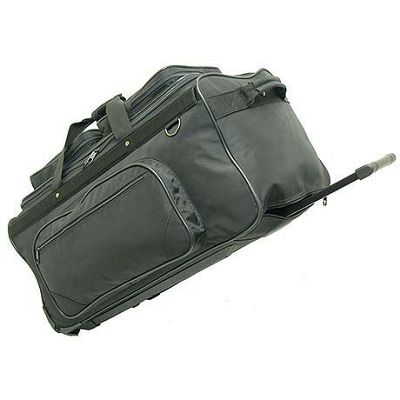Netpack Stand Alone 30 inch Wheeled Duffel - Large - Black