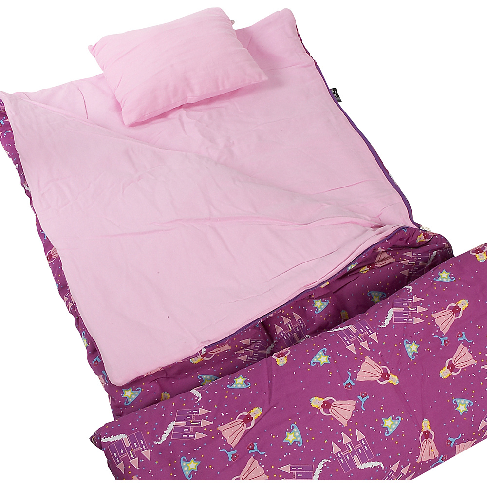 Wildkin Princess 66 Sleeping Bag - Princess - Travel Accessories, Travel Pillows & Blankets
