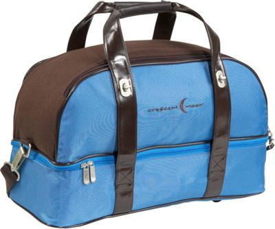 Crescent Moon Overnighter - Blue/Brown
