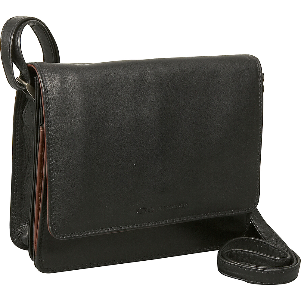 Derek Alexander Three-Quarter Flap Organizer - Handbags, Leather Handbags