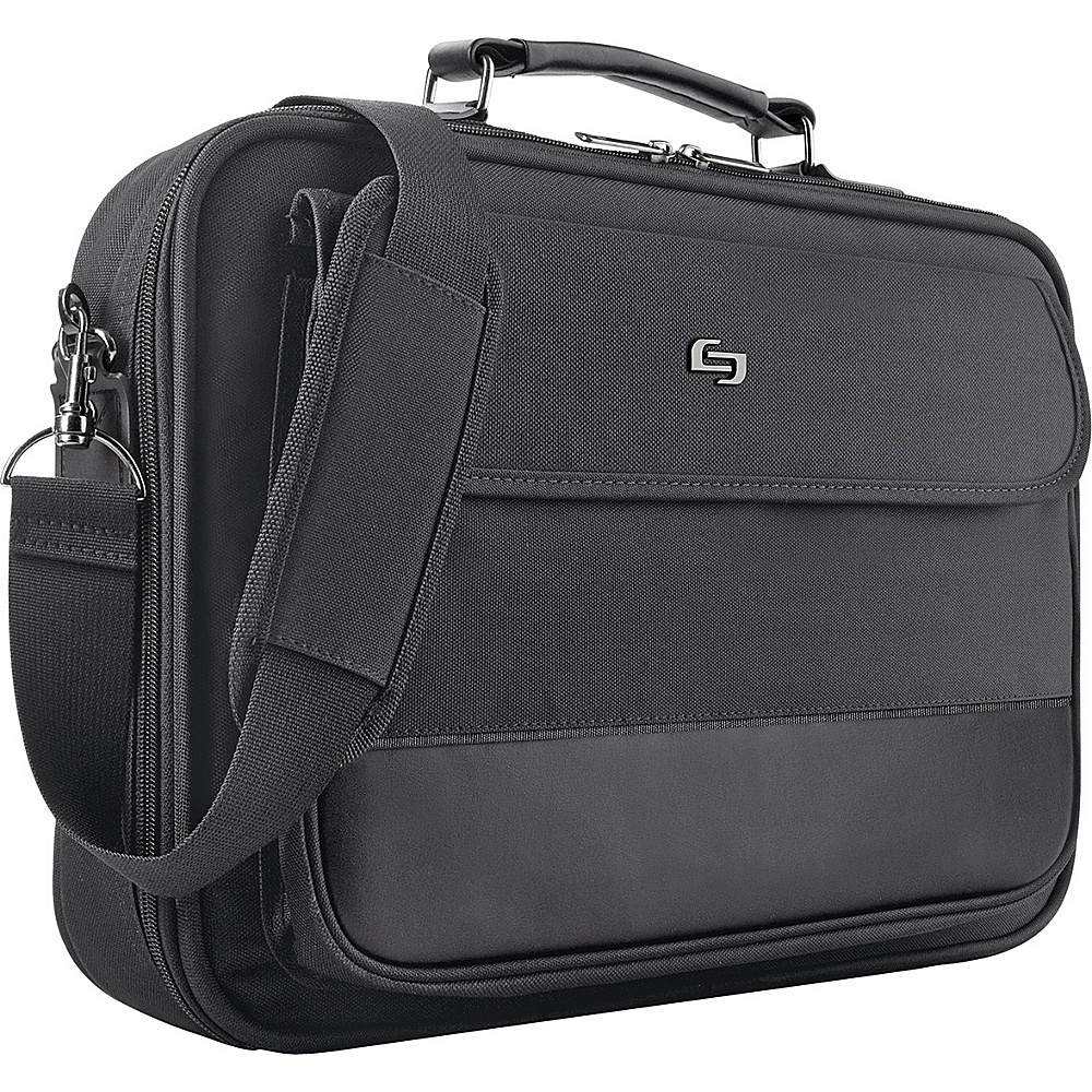 SOLO Adjustable Computer Case - Black - Work Bags & Briefcases, Non-Wheeled Business Cases