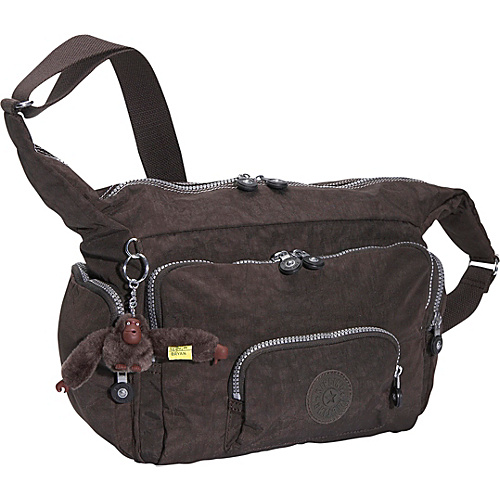 Kipling Europa Multi-Zip Shoulder Bag - Shoulder Bag