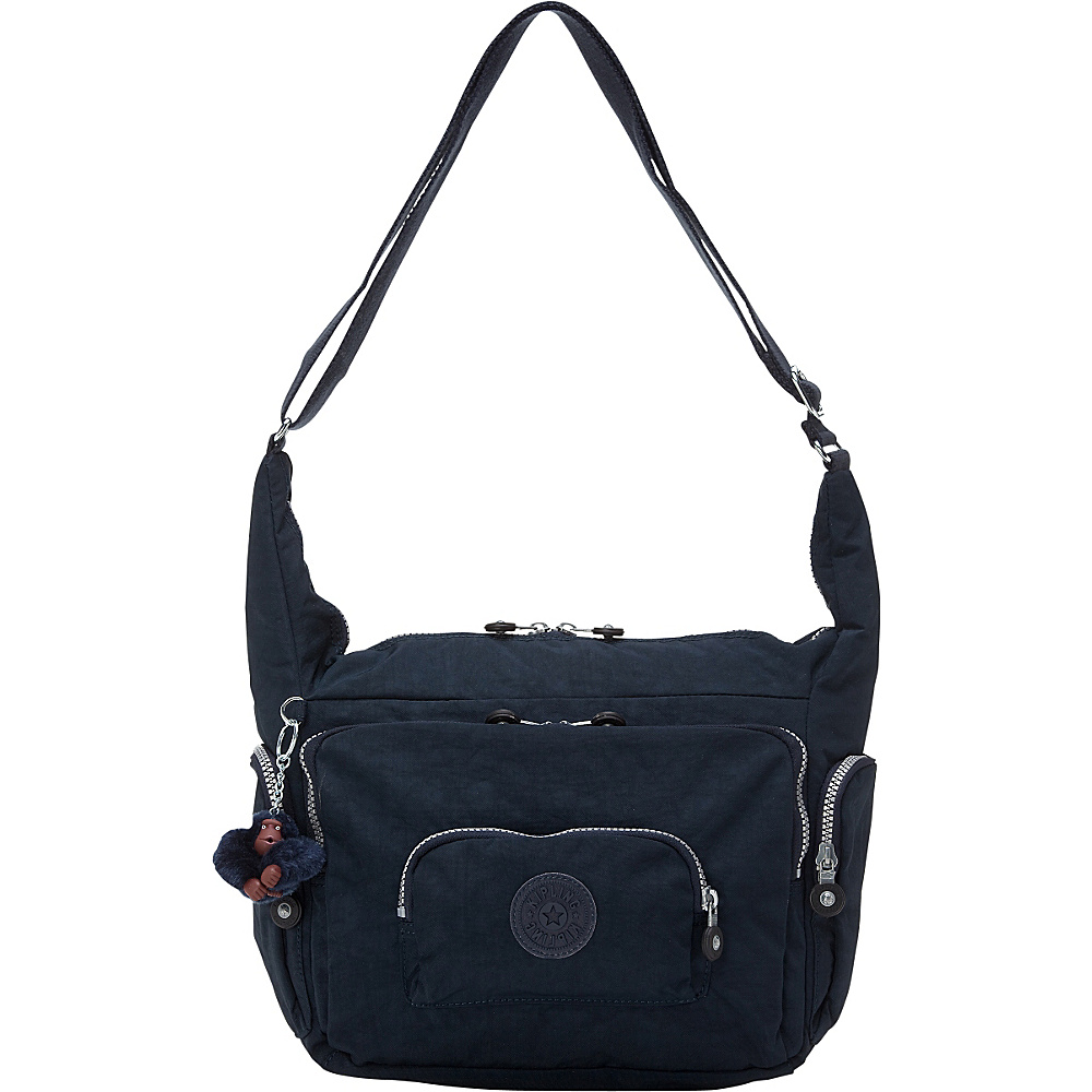 Kipling Erica Crossbody Bag True Blue - Kipling Leather Handbags - Handbags, Leather Handbags
