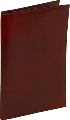 Bosca Old Leather Passport Case - Cognac