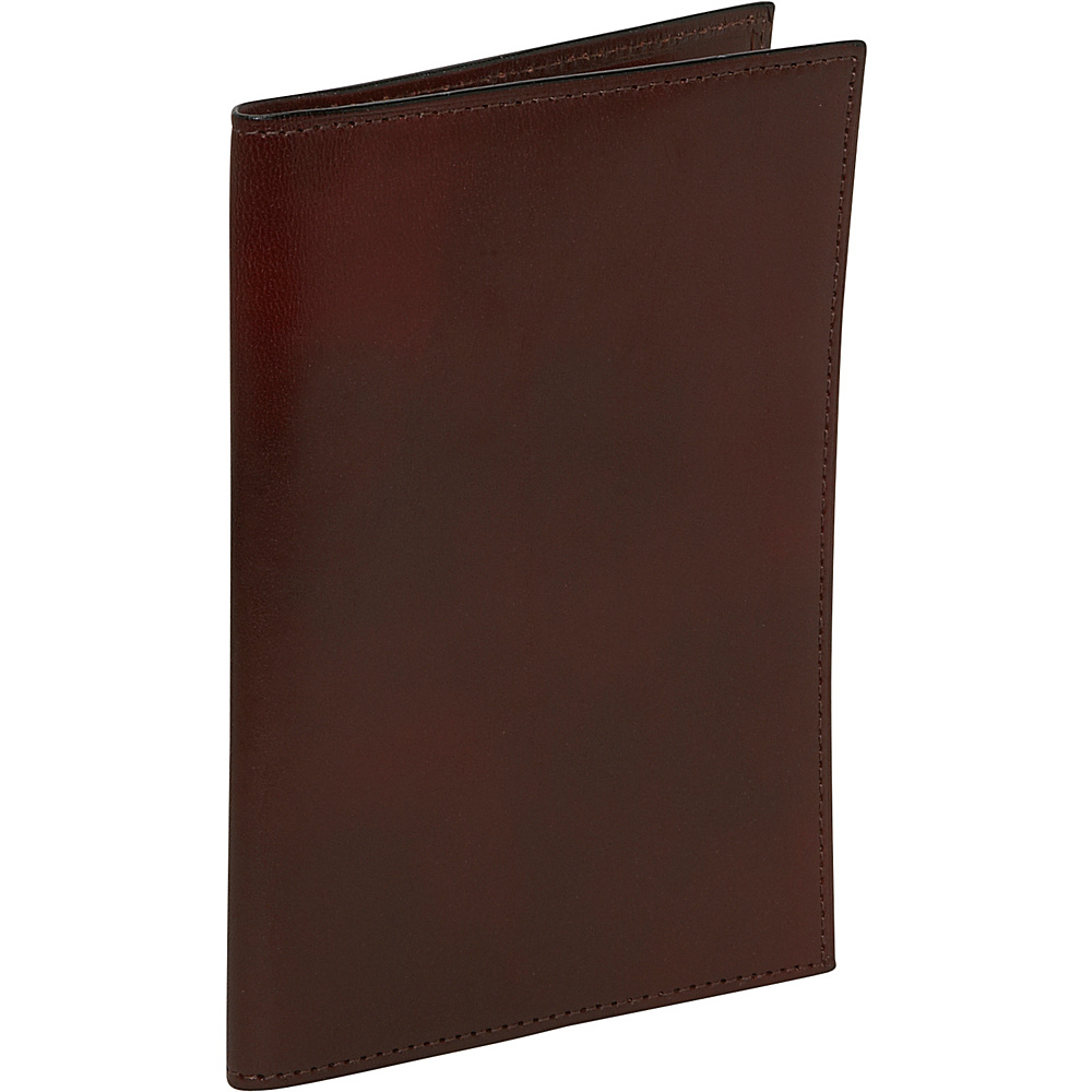 Bosca Old Leather Passport Case Dark Brown