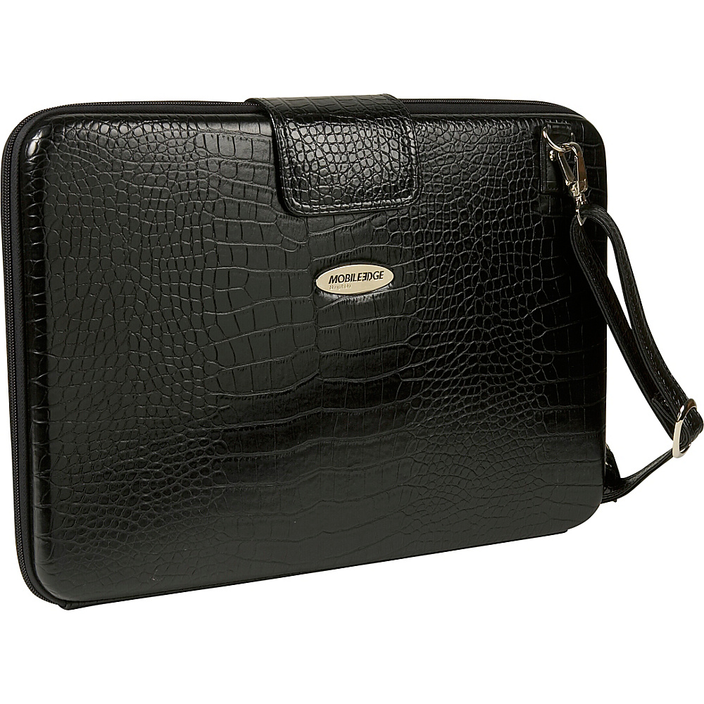 Mobile Edge Large Faux Croc Portfolio - 16PC / 17 - Work Bags & Briefcases, Non-Wheeled Business Cases