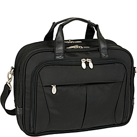 Pearson Nylon Expandable 15.4'' Laptop Case Black